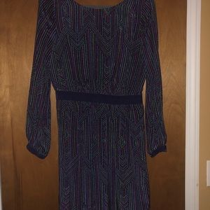 Shoshanna Purple Silk Dress Size 8